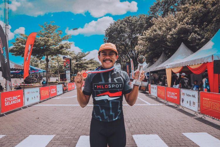 Arga Budirahman dari tim Westbike juara umum Selangor Criterium Series 2018.