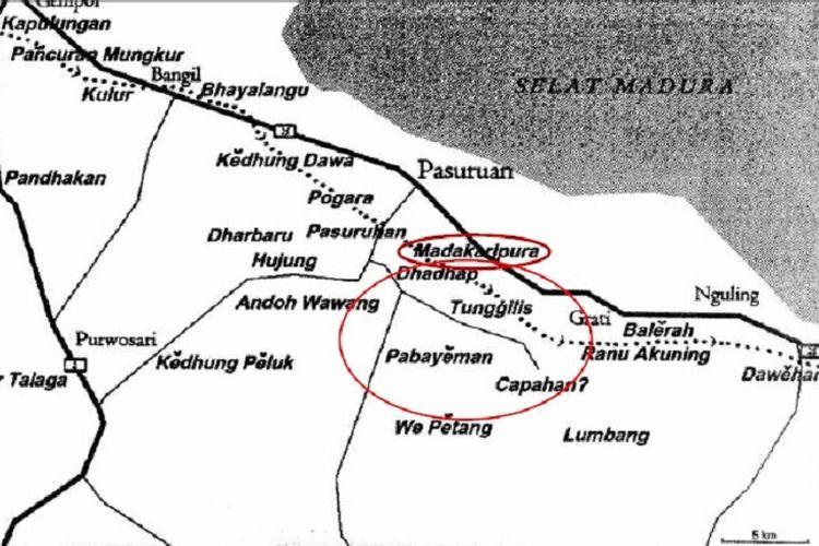 Lokasi Madakaripura