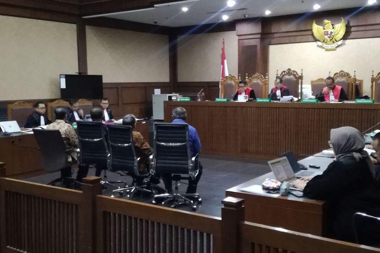 Sidang pemeriksaan saksi untuk terdakwa mantan Ketua Umum PPP Romahurmuziy di Pengadilan Tindak Pidana Korupsi Jakarta, Rabu (30/10/2019)