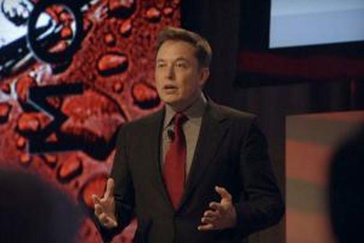 Elon Musk, CEO perusahaan transportasi luar angkasa SpaceX