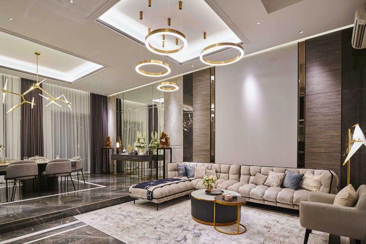 Desain kontemporer rumah mewah karya Studio Kuskus