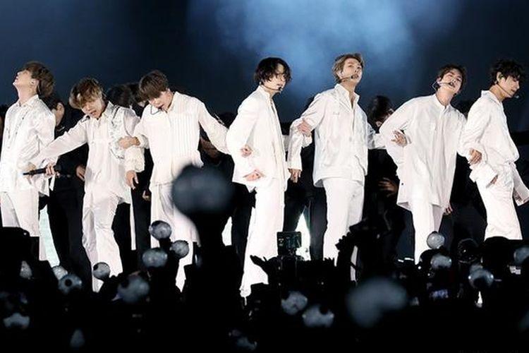 Salah satu band K-Pop paling populer, BTS.