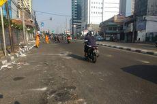 Pascarusuh 22 Mei, Jalan Slipi I Sudah Bisa Dilintasi