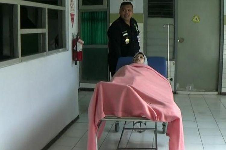 Sulami saat berada di rumah sakit di Sragen, Selasa (24/1/2017)