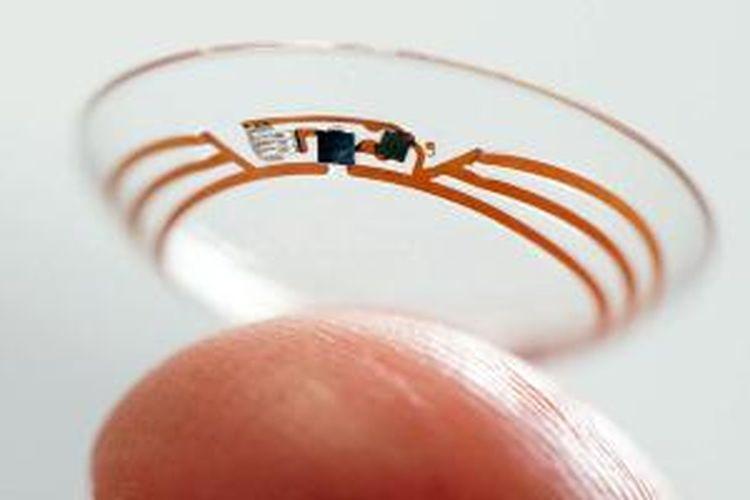 Lensa kontak pintar dari Google untuk memeriksa kadar gula