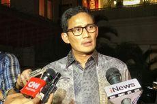 Bertemu Prabowo, Sandiaga Sampaikan Hasil Dialog Terkait Pilpres