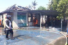 Gudang dan Ruang Tunggu Rutan Pondok Bambu Terbakar