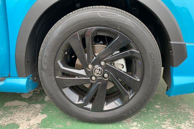 Pelek 17 inci milik Toyota Raize GR Sport