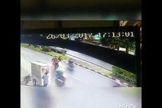 Terekam CCTV, Seorang Bocah Jadi Korban Tabrak Lari di Bandung