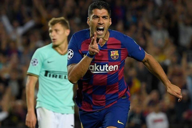 Barcelona Vs Inter Milan Brace Luis Suarez Menangkan El Barca