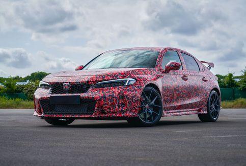 Meluncur 2022, Terungkap Wujud Honda Civic Type R Generasi Baru