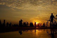 Pantai Losari Penuh Sampah,  7.500 Personel TNI Turun Tangan