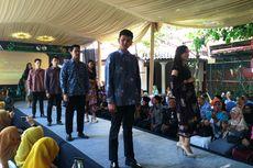 Motif Bunga Jadi Pilihan Perajin dari Kampung Batik Cigadung Bandung