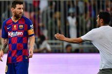 Messi di Kekalahan Barca, Ribut dengan Felix hingga Dipeluk Penyusup