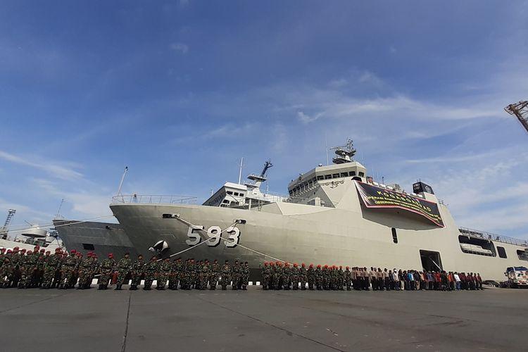 Tim komando tugas gabungan terpadu (Kogasgabpad) akan menjalani tugas observasi 188 WNI dari kapal World Dream di Pulau Sebaru, Kepulauan Seribu, DKI Jakarta.