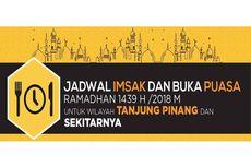 Jadwal Imsak dan Buka Puasa di Tanjung Pinang pada Hari Ini