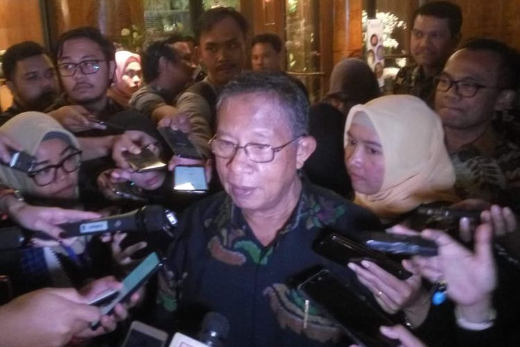 Menteri Koordinator Bidang Perekonomian Darmin Nasution di Jakarta, Rabu (2/10/2019).