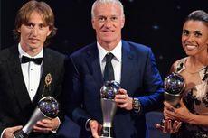 Pelatih Barcelona Anggap Modric Layak Raih Gelar Pemain Terbaik Dunia