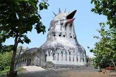 Gereja Ayam Buka Lagi, Pengunjung Wajib Pakai Masker