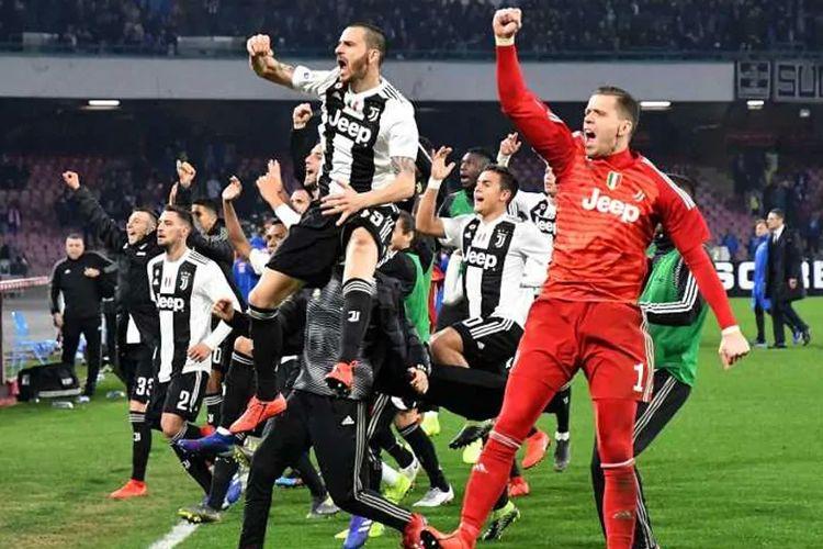 Juventus bisa mengunci gelar Serie A akhir pekan ini, Sabtu (20/4/2019)