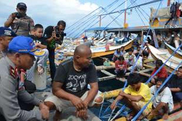 31 Nelayan warga negara Filipina yang Ditangkap Ditpolair Polda Maluku Utara pada 21 Desember 2015