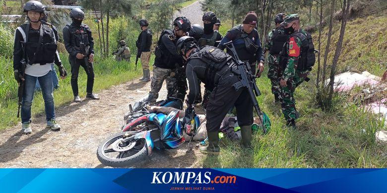 KKB Tembak Mati Sopir Ojek di Kabupaten Puncak Pap