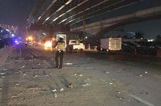 Setelah 16 Jam, Truk Overload yang Terguling di Tol Jakarta-Cikampek Berhasil Dipindahkan