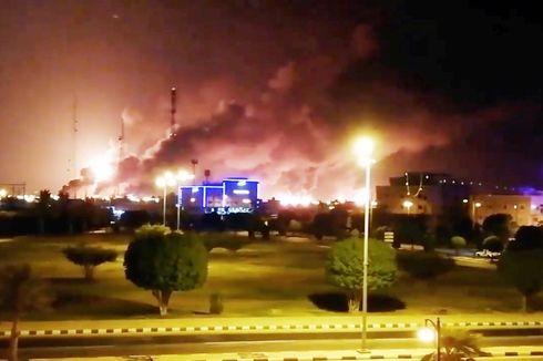 Kelompok Pemberontak Houthi Klaim Serangan Drone ke Pabrik Minyak Saudi Aramco