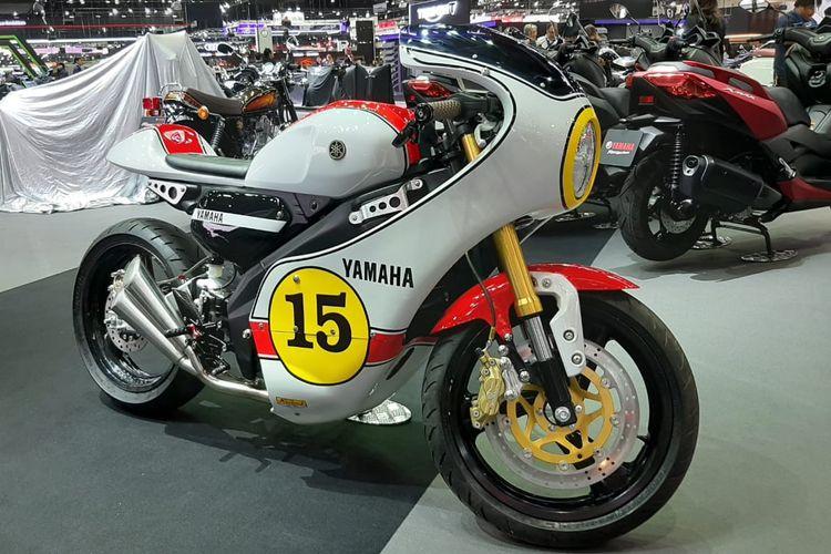 Motor custom Yamaha XSR155 di Thailand International Motor Expo 2019 di Bangkok