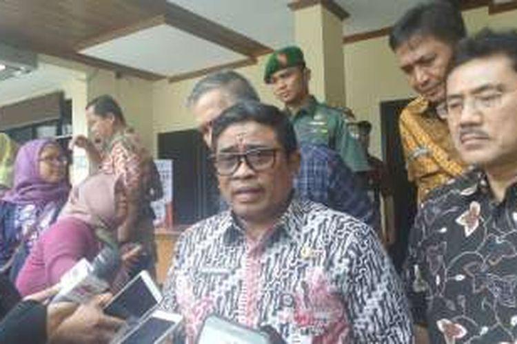 Plt Gubernur DKI Jakarta Sumarsono di Pulau Pramuka, Kepulauan Seribu, Jumat (9/12/2016).