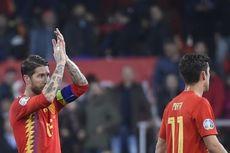 Norwegia Vs Spanyol, Ucapan Selamat Beckham untuk Sergio Ramos