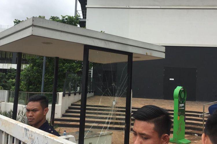 Kondisi AEON Mall Jakarta Garden City (JGC), Selasa (25/2/2020).