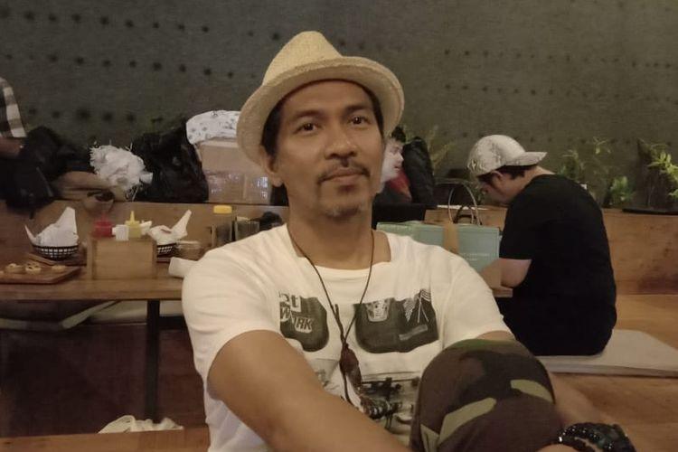 Ridho Slank saat dijumpai di kawasan Senopati, Jakarta Selatan, Kamis (20/6/2019).
