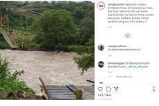 Ini Dugaan Penyebab Putusnya Jembatan Gantung di Objek Wisata Bengkulu