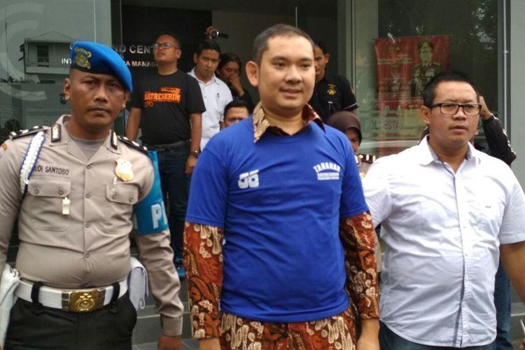 RM, penembak mobil pejabat Pemkot Surabaya di Mapolrestabes Surabaya
