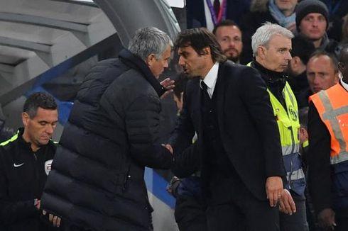 Kisah Cekcok Mourinho-Conte, dari Sindiran Rambut, Badut, hingga Pikun