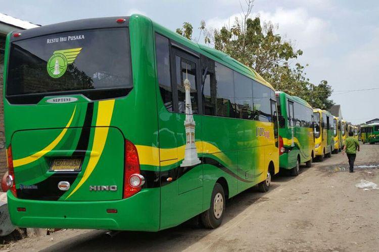 Hino FB130 sebagai bus sedang, 15 unit untuk Trans Jogja.