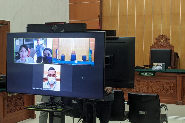 Sidang kasus krpemilikan narkoba Lucinta Luna di Polres Metro Jakarta Barat, Rabu (29/7/2020)