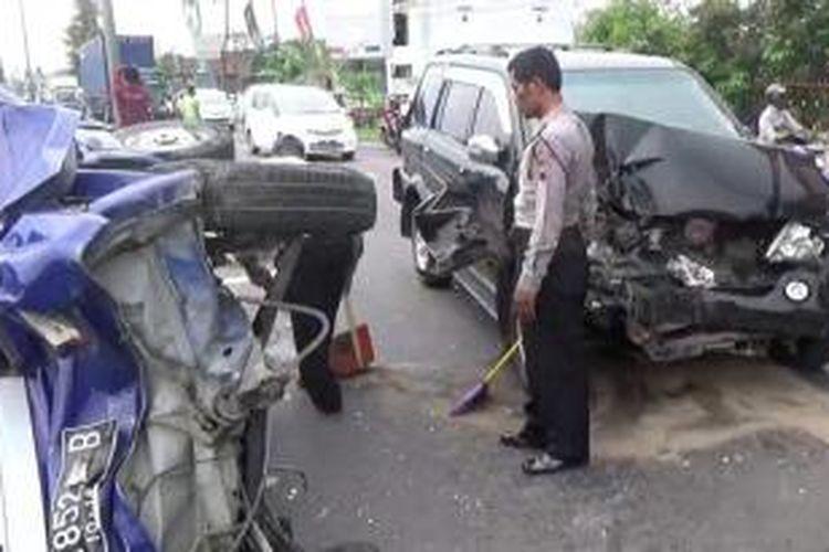 Kecelakaan di Mojosongo, Boyolali, Jumat (4/12/2015)