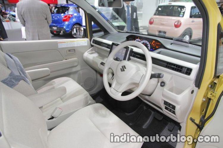 Ilustrasi interior Suzuki Wagon R