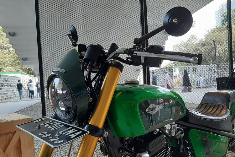 Pesona motor custom Jokowi di IIMS Motobike Expo 2019