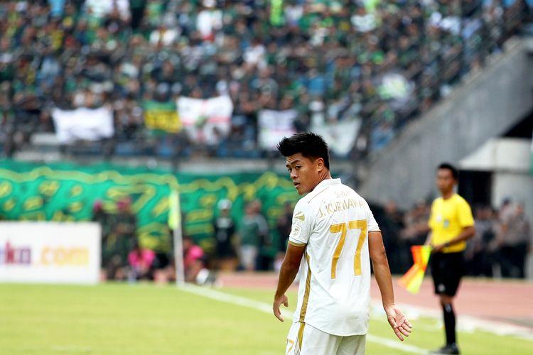 Pemain PSS Sleman, Jefri Kurniawan.