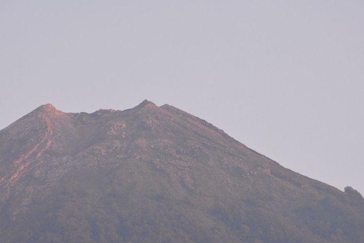 Gunung Api Ebulobo sebagai salah satu spot destinasi di Kabupaten Nagekeo, Flores, NTT, Kamis (28/2/2019) belum dipromosikan sebagai destinasi trekking ke puncak gunung berapi tersebut.