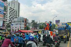 Mahasiswa Tangerang Kembali Gelar Aksi Tolak UU Cipta Kerja
