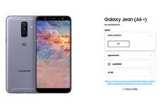 Samsung Ubah Galaxy A6 Plus Jadi Galaxy Jean