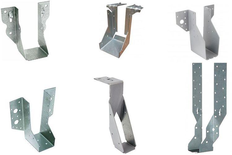 Joist hanger atau gantungan balok merupakan alat yang digunakan untuk menahan balok pada tempatnya.