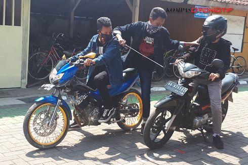 Helm Anti Begal Karya Siswa SMKN 1 Purworejo