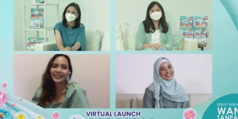 Acara peluncuran deterjen Daia Fresh & Clean Hijab.