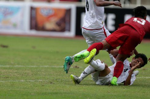 Indonesia Kalah 1-3 dari Myanmar, Debut Luis Milla Tak Sesuai Harapan