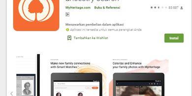 MyHeritage Aplikasi